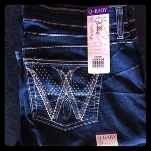 NWT Q-Baby Wrangler Jeans 👖